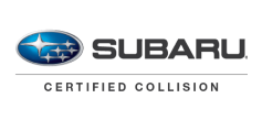 logo for Bates Collision being a Subaru Certified repair shop