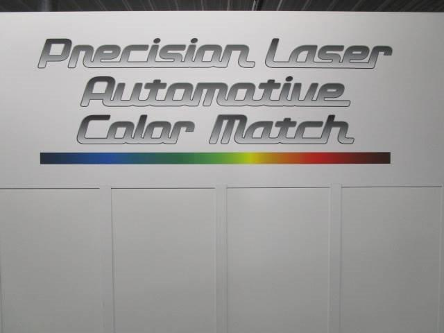 the paint color match machine tool at Bates Collision